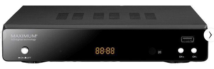 Maximum XO 30S HDTV Sat Receiver (HDTV, DVB S, DVB S2,) für 25€ (statt 43€)