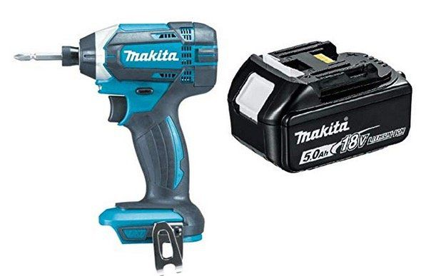 Ausverkauft! Makita DTD152Z Schlagschrauber 18V + Akku 5,0Ah für 85,31€ (statt 129,10€)