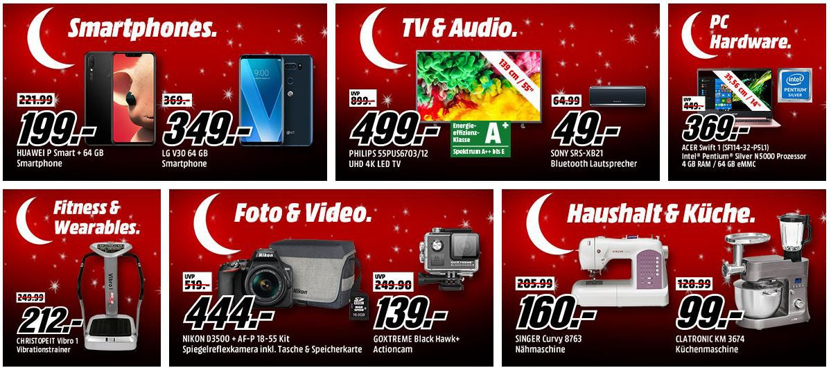 🔥 Media Markt: Mega Oster Tiefpreisspätschicht mit sehr vielen guten Angeboten bis 8Uhr