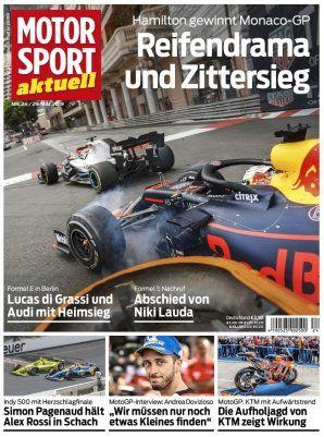 25 Ausgaben Motorsport Aktuell für 62,50€ + 50€ Amazon Gutschein