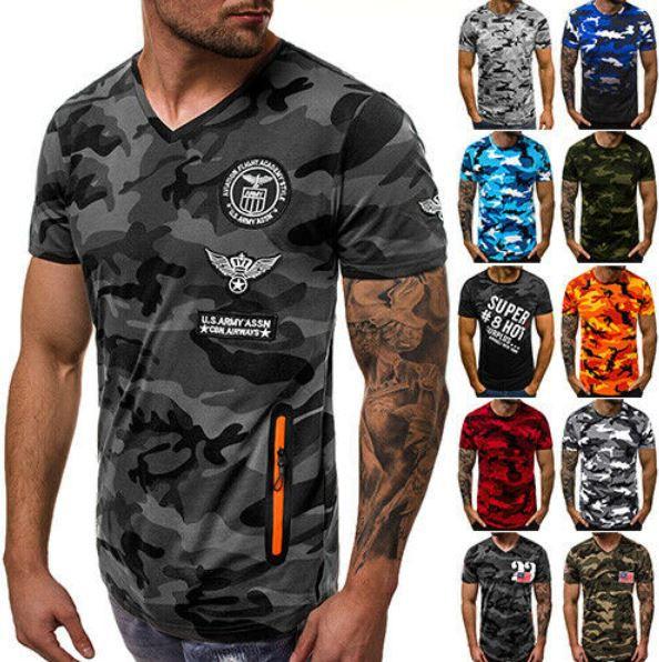 OZONEE 9720   Herren Logo Print T Shirts 38 Modelle für je 9,49€ (statt 15€)