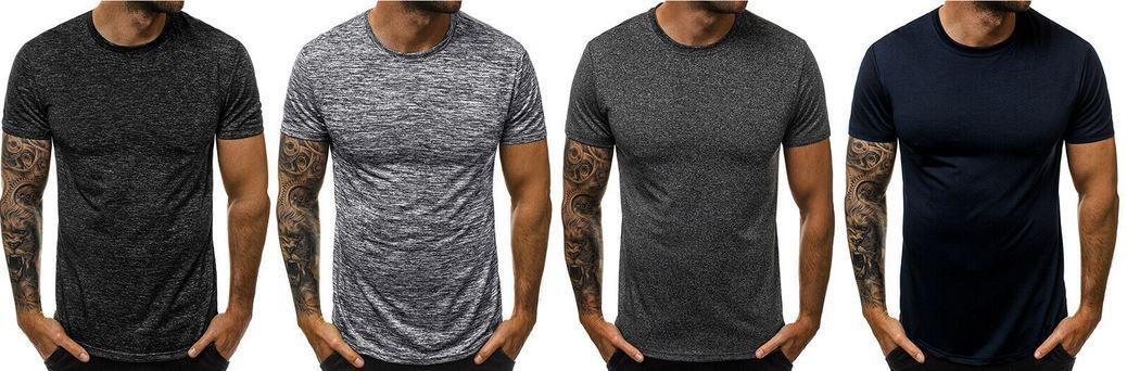 OZONEE JS/S01 Herren T Shirts 43 Modelle bis 2XL für je 7,45€ (statt 10€)