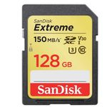 SanDisk Extreme 128GB SDXC mit 150 MB/Sek. für 26€ (statt 30€)