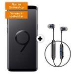 Galaxy S9 + Sennheiser CX6 für 19€ + Allnet-Flat im Vodafone-Netz mit 8GB für 29,99€ mtl.