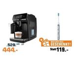 PHILIPS LatteGo Kaffeevollautomat + PHILIPS Sonicare FlexCare Platinum für 444€ (statt 586€)