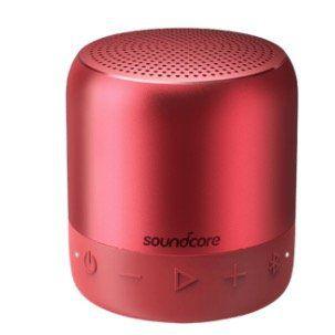 ANKER SoundCore Mini 2 wasserfester Bluetooth Lautsprecher in Rot für 27€ (statt 40€)