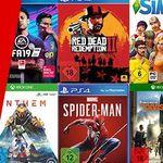 MediaMarkt: 2 Spiele kaufen + 1 Spiel geschenkt – auf fast ganze Games-Sortiment