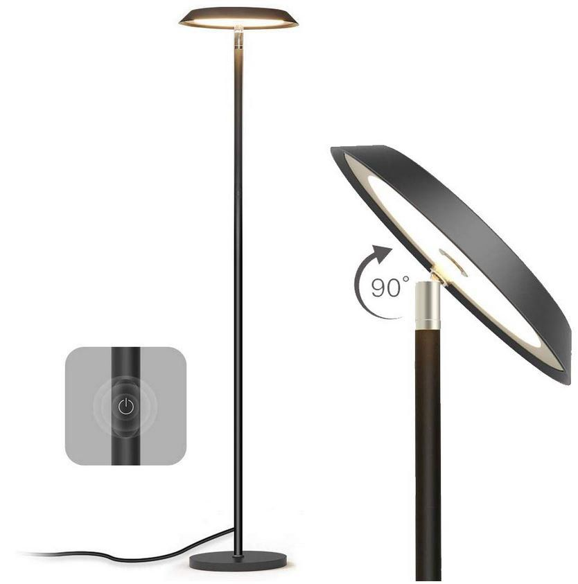 TECKIN LED dimmbare 20W Stehlampe 170cm ab 29,99€ (statt 55€)