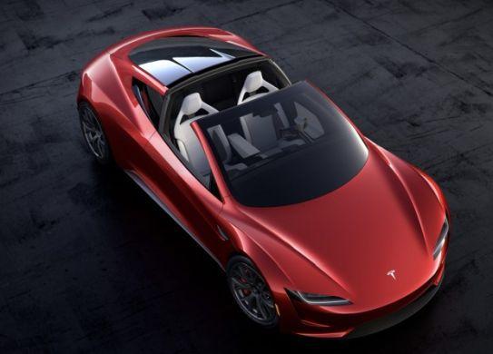 Tesla Roadster 2: Reichweite von über 1.000 km möglich