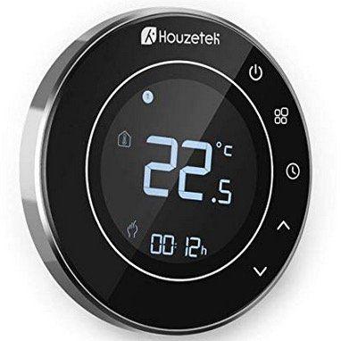 Houzetek Thermostat mit Wifi und Touchscreen mit App Steuerung für nur 19,99€ (statt 40€)