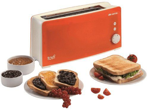 Ariete 00C012702AR0 Langschlitz Toaster in Orange für 30€ (statt 37€)