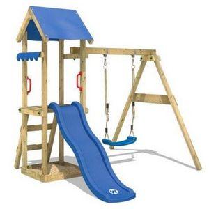 Wickey Spielturm TinyWave mit Rutsche, Sandkasten und Schaukel für 179,95€ (statt 195€)