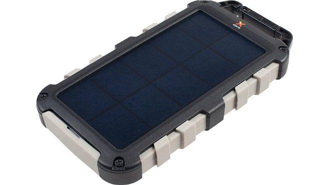 XTORM FS305 Solar Powerbank in Schwarz für 26,99€ (statt 38€)