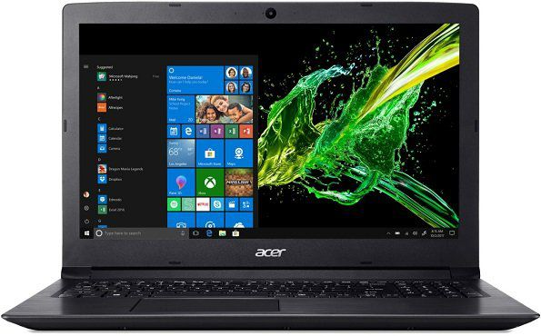 Geht jetzt: ACER Aspire 3 (A315 53 317L) Notebook mit i3, 8GB RAM, 1TB HDD, HD Grafik 620 für 299€ (statt 499€)