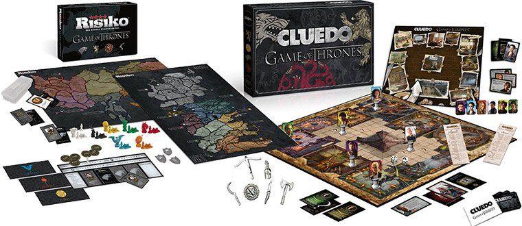Game of Thrones Spielesammlungen von Cluedo, Monopoly & Risiko z.B. Cluedo Collectors Edition für 33,99€ (statt 43€)