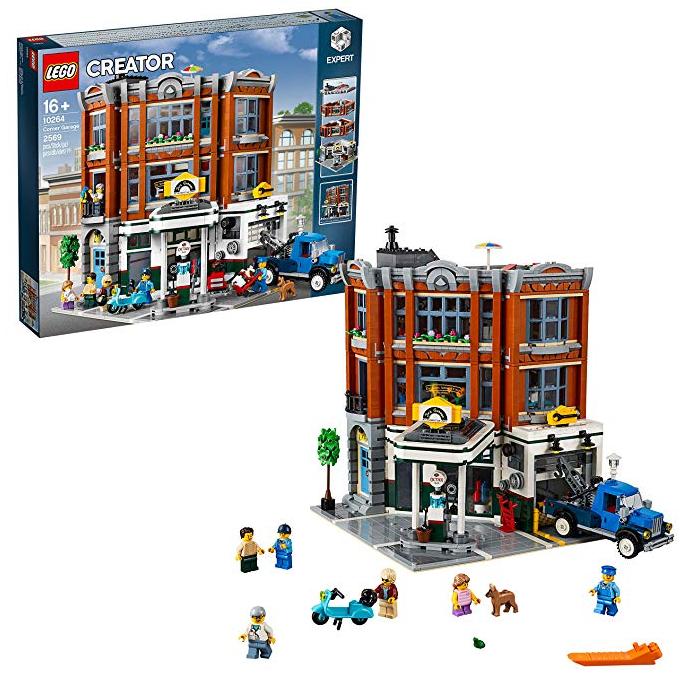 Lego Creator Expert Eckgarage für 139€ inkl. VSK (statt 180€)