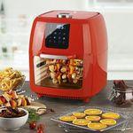 Gourmetmaxx XXXL Airfryer Fritteuse & Drehgrill für 99,99€ (statt neu für 140€)
