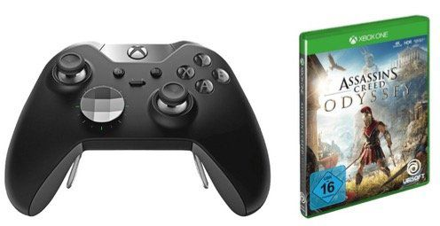 Microsoft Xbox One Elite Wireless Controller + Assassins Creed Odyssey ab 87€ (statt 142€)