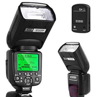 ESDDI Canon Blitzgerät Kit Speedlite GN58 für Wireless Flash für 45,39€ (statt 70€)