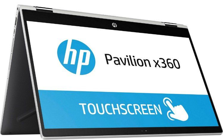 HP Pavillion X360 Convertible (15,6″, Core i3, 256GB SSD) für 405,94€ (statt 597€)