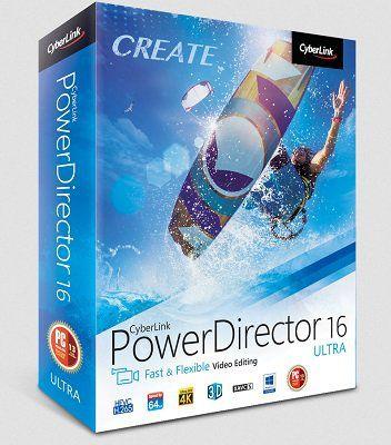 Gratis: CyberLink PowerDirector 16 (statt 43€)