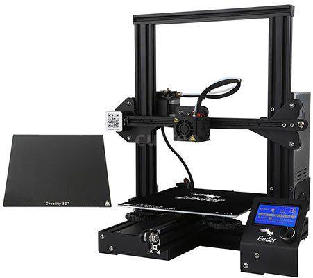 Creality 3D Ender 3X   3D Drucker mit Glasdruckbett & MK 10 Extruder für 177,09€   aus DE