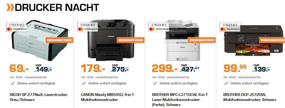 Saturn Late Night Shopping: günstige Drucker, Smart Home und Licht + das große Osterbacken