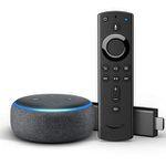 Fire TV Stick mit Alexa-Sprachfernbedienung + Echo Dot 3. Gen. für 49,99€ (statt 84€)