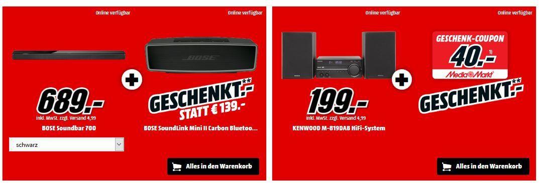 🔥 Knaller! Media Markt Oster Aktion   gratis Zugabe zu ausgewählten Produkten bis 8 Uhr