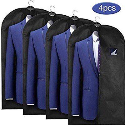 4 Esonmus Anzugtaschen mit Schuhbeutel für 9,91€ (statt 16€)