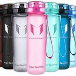 """Tritan Trinkflasche mit """"1 Klick-Öffnung"""" in vielen Farben & 3 Größen ab 8,11€ – Prime"""