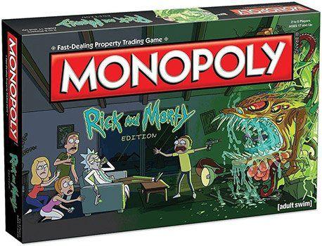 Monopoly Rick and Morty (englisch) für 33,99€ (statt 43€)
