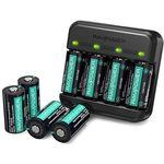 RAVPOWER RP-BC017 – RCR123A Batterieladegerät inkl. 8 Akkus für 27,99€ (statt 36€)
