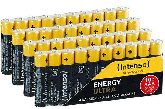 40er Pack Intenso Energy Ultra AA / Mignon Alkaline Batterien für 7,99€ (statt 13€)