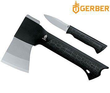 Gerber Gator Outdoor Set Axt + Messer (Inkl. Gürtel Etui) für 30,90€ (statt 49€)
