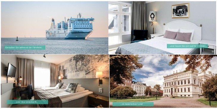 3 ÜN mit Frühstück im 4* Hotel in Schweden mit Ostseeüberfahrt inkl. PKW ab 174€ p.P.