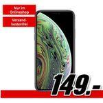 Apple iPhone XS für 149€ mit Vodafone Allnet-Flat, SMS und 6GB LTE für 46,99€ monatlich