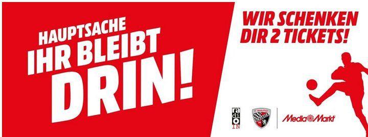 Ingolstadt: Bei MediaMarkt kostenlose Tickets für den FC Ingolstadt ergattern