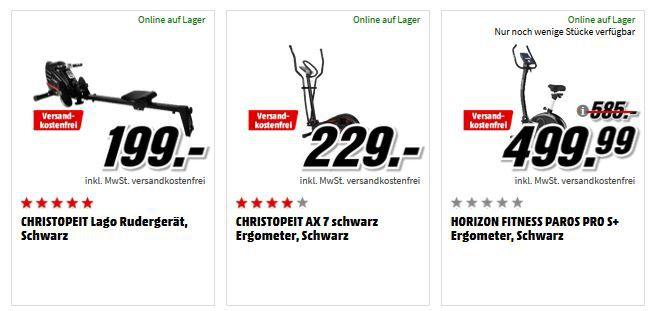 Media Markt Sport Aktion: viele günstige Artikel zu Sport, Fitness, E Bikes, Actioncams uvam.