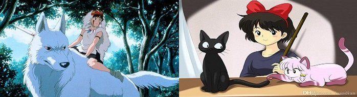 Kikis Lieferservice (IMDb 7,9/10) & Prinzessin Mononoke (IMDb 8,4/10) kostenlos anschauen