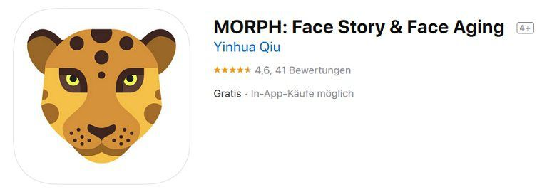 iOS: Morph   Face Story & Face Aging  kostenlos (statt 5,49)