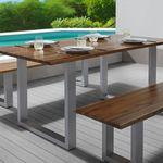 Tisch Mailo aus Akazienholz (160 x 85 cm) für 161,85€ (statt 249€)