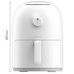 Xiaomi Onemoon Air-Fryer mit 2 Litern für 88,07€ inkl. Priority Line Germany