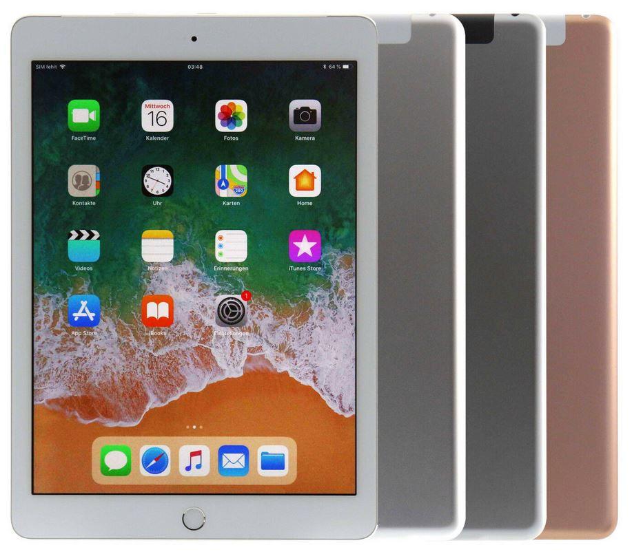 Apple iPad 2018 WLAN + LTE mit 32GB für 345€ (statt 387€)   G Ware