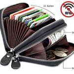 Lebexy Kartenetui aus Leder mit RFID-Schutz für 9,90€ (statt 14€) – Prime