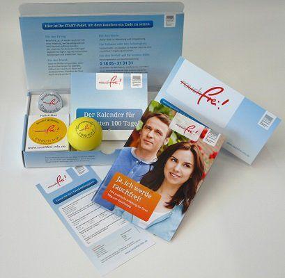 BZgA: Kostenloses rauchfrei   Startpaket