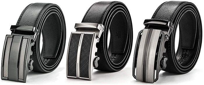 MUCO Herren Ledergürtel   3 Modelle in vielen Größen für je 9,49€   Prime