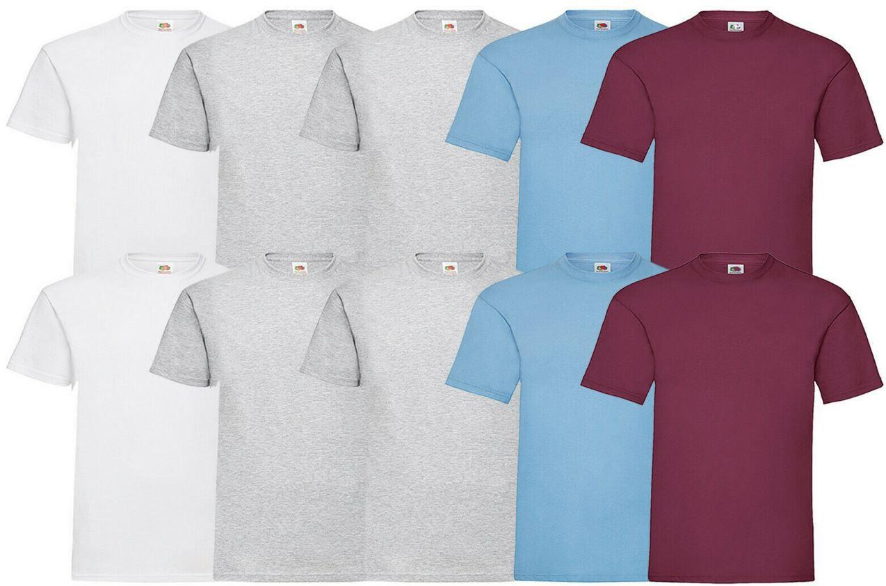 Fruit of the Loom   10 T Shirts M bis 5XL ab je Set 22,95€ (statt 31€)