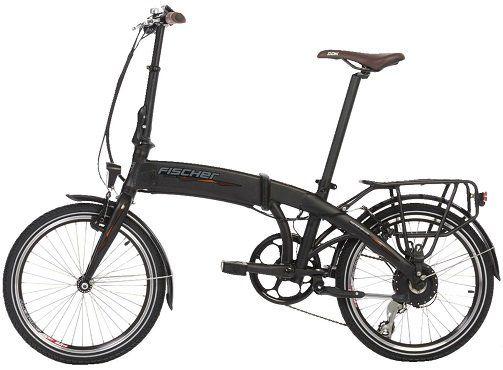 FISCHER Faltrad/Concept Bike, Pedelec bis 25 km/h in Schwarz für 889€ (statt 1.029€)