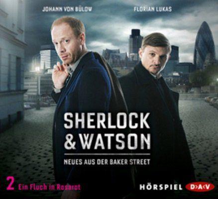 Gratis: Hörspiel Sherlock & Watson: Neues aus der Baker Street   Ein Fluch in Rosarot